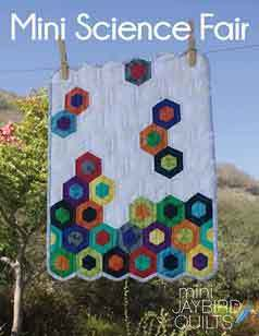 43555 Mini Science Fair Quilt Pattern $13.95