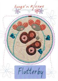 42117 Flutterby Banner Pattern $19