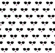 15288 Its all about me Sunglasses 27001-White $27.50 per mt