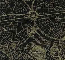 14454 Gold Standard Map Gold $25.40 per mt