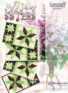 43765 My Two Baby Sisters Placemats Pattern & Papers $41.95