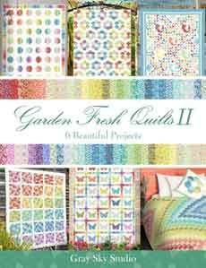 41091 Garden Fresh Quilt II Book $30