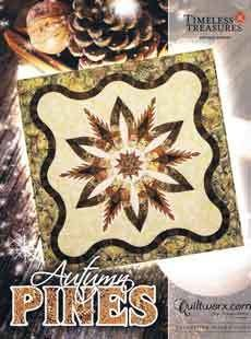 43764 Autumn Pines Quilt Pattern & papers $51.95