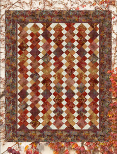 95380 Autumn Glory Quilt fabric kit $318.40