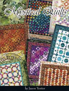 41092 Mystical Quilts Book $30