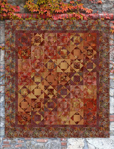 95381 Autumn Abstract Quilt fabric kit $303