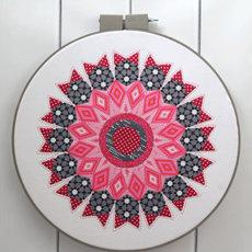 42171 In the Round Hoop Art Pattern 1