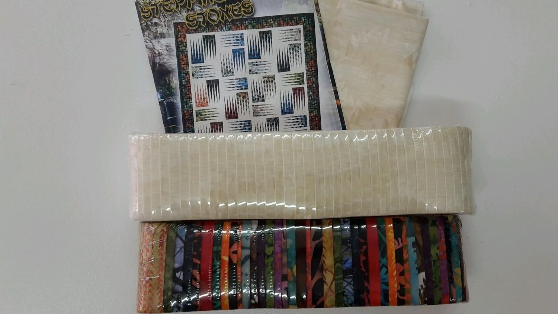10437 Stepping Stones Fabric starter kit $167.20