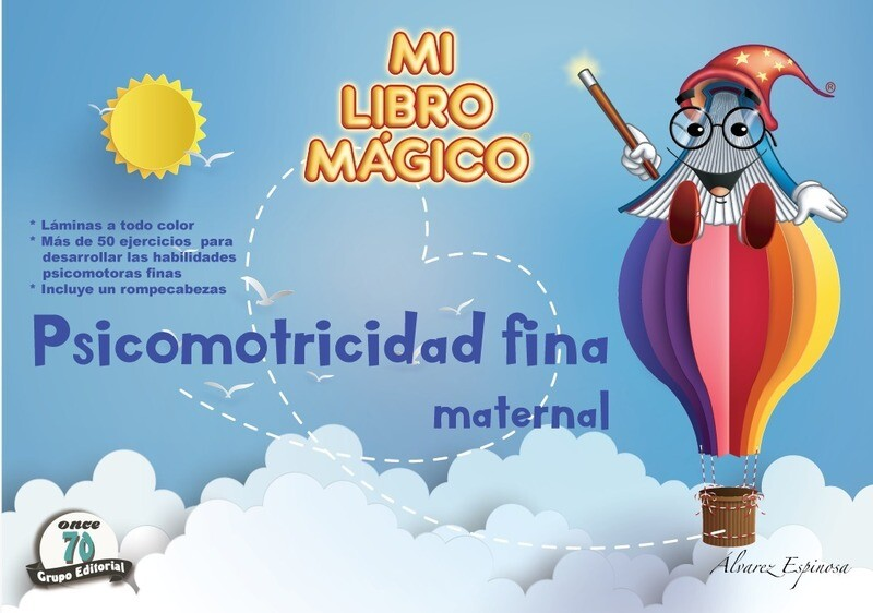 MI LIBRO MÁGICO - PSICOMOTRICIDAD FINA MATERNAL