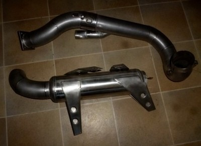 Exhaust System in Stainless Steel 205 T-16