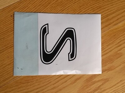 'S' Decal for Murena Bonnet