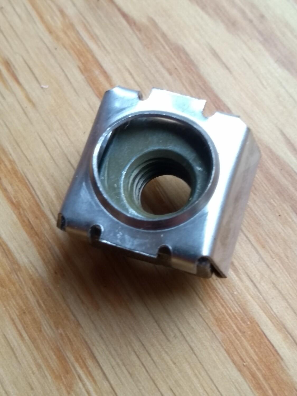 Captive Nut 20mm x 8mm x M8
