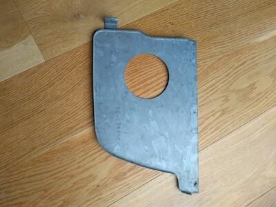 Brake Ventilation Panel Ft Wheel Arch Driver