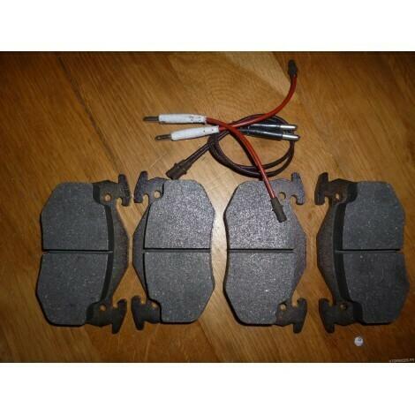 Rear Brake Pads 205 T16