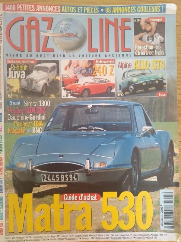 M530 Buyer's Guide Gazoline April 1999