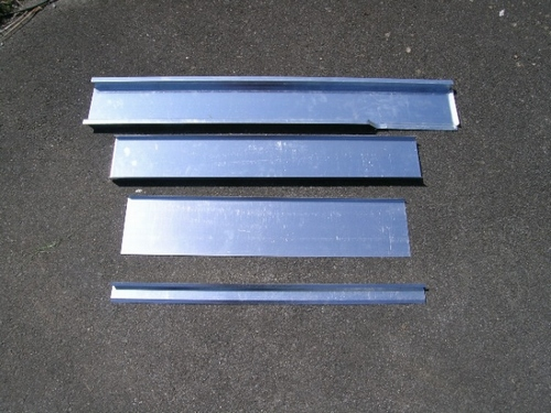 Cill Repair Kit Bagheera Passenger Side