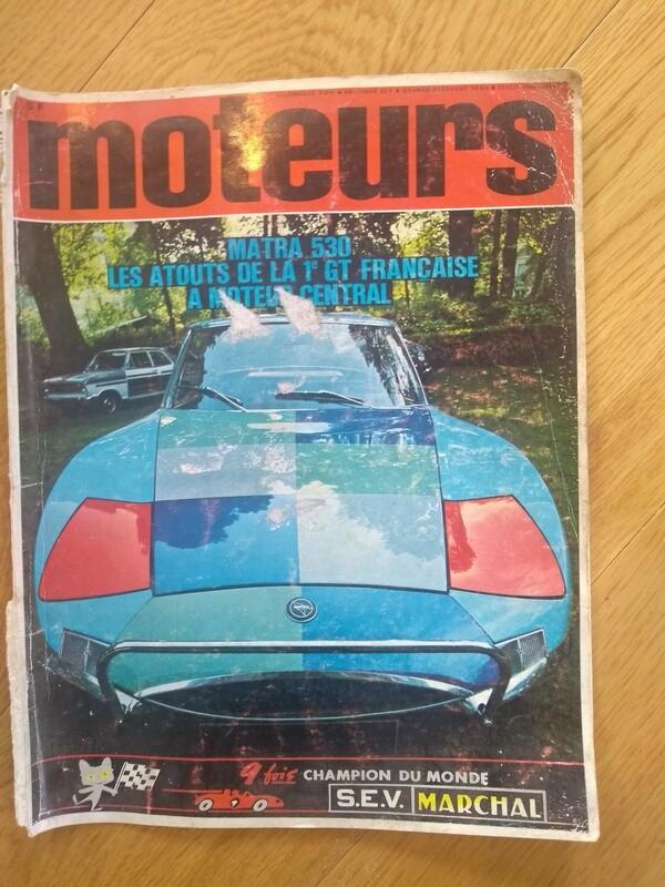Moteurs January 1968 M530