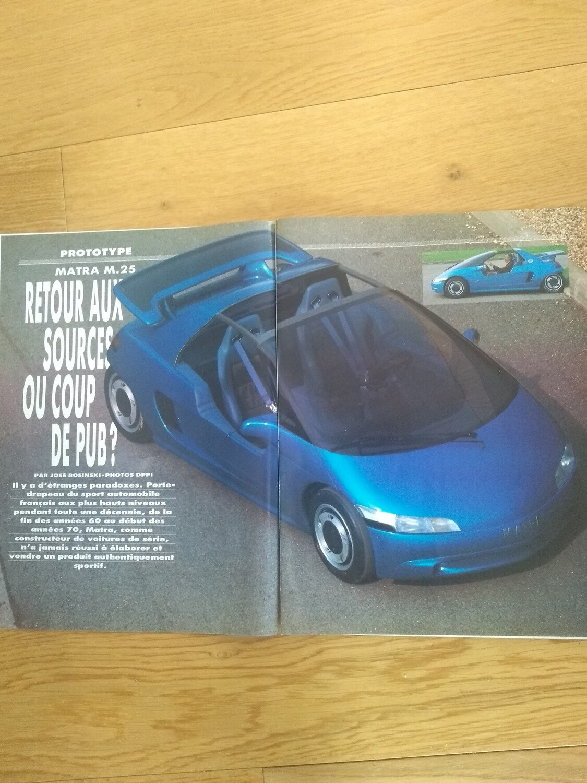 Sport Auto May 89 M25
