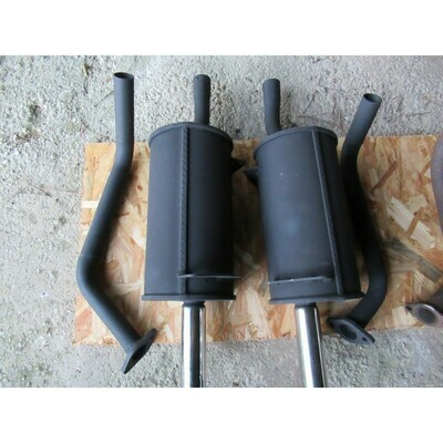 Exhaust System M530 Mild Steel