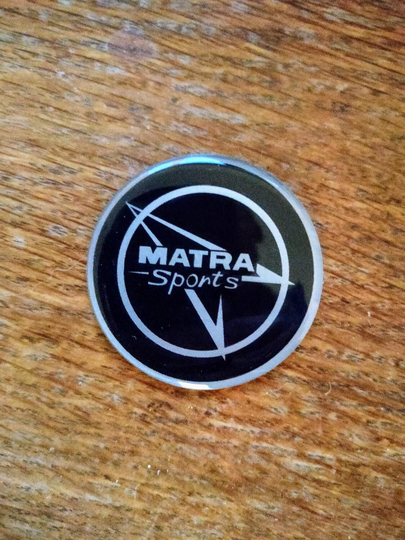 Matra Sports Gel Badge
