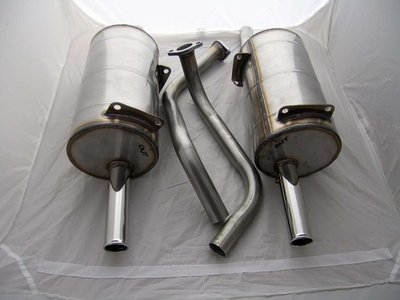 Stainless Steel Exhaust M530
