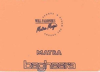 Parts Manual Bagheera