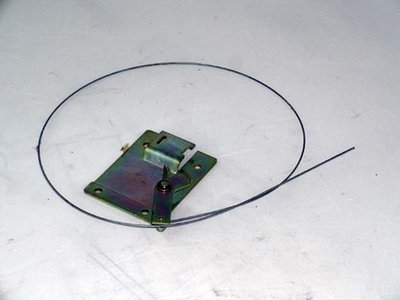 Bonnet Release Cable Plate