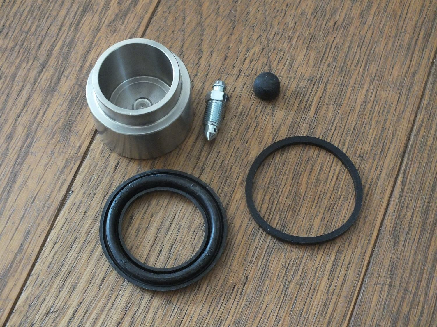 M530 Front Brake Repair Kit with Piston