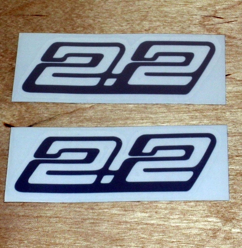2.2 Decal pair