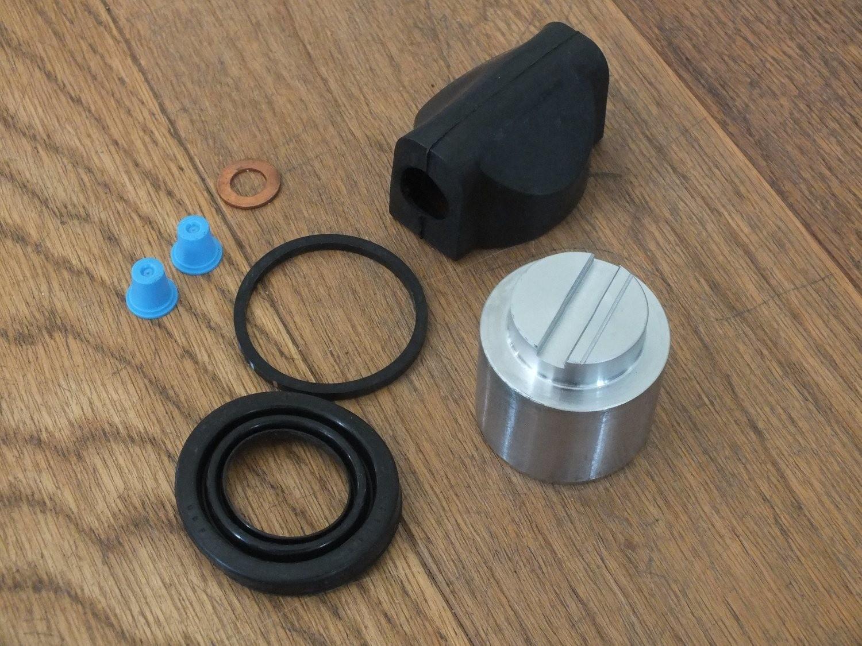 Caliper Piston and Seal Repair Kit Murena and Bagheera, Alpine A110