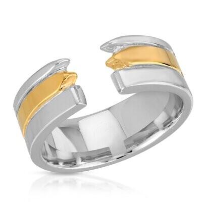 Golden Ivory Ring