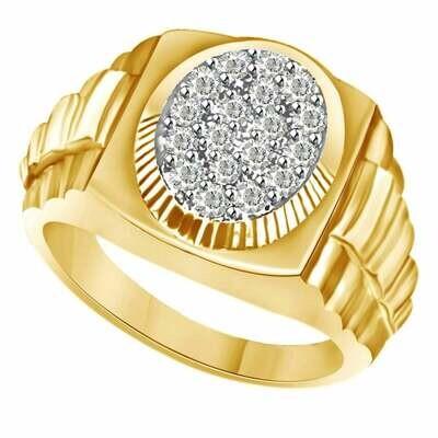 Diamond Gold Rolex Ring