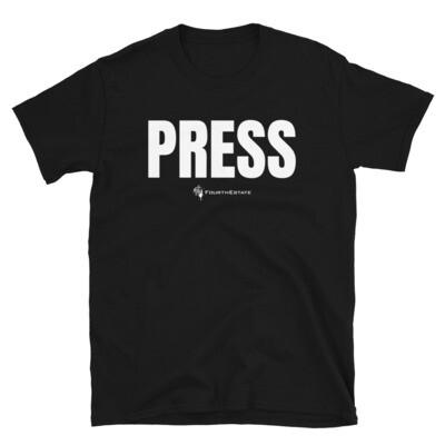 'PRESS' Unisex T-Shirt