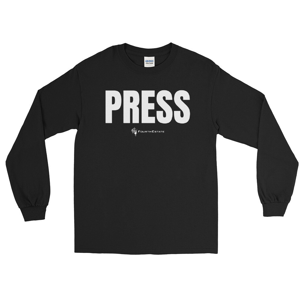 'PRESS' Long Sleeve Shirt
