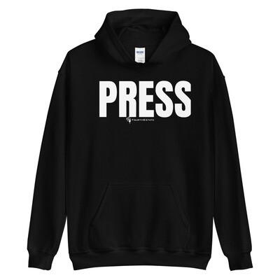 """""""PRESS"""" Unisex Hoodie"""