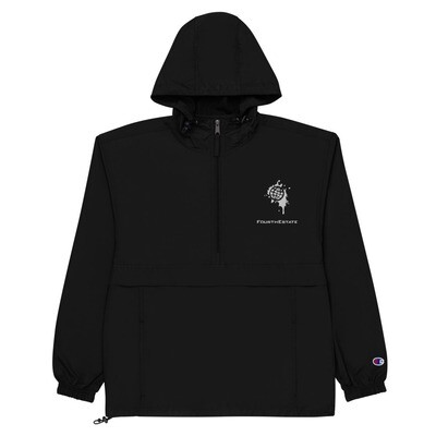 Fourth Estate®  Logo Embroidered Champion Packable Jacket