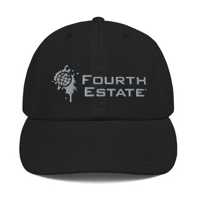 Fourth Estate® Logo Champion Cap