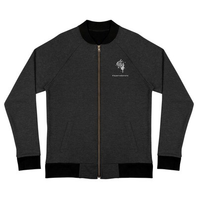 Fourth Estate® Zippered Bomber Jacket