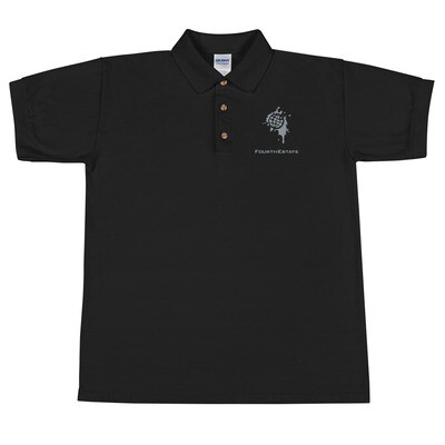 Fourth Estate® Embroidered Polo Shirt