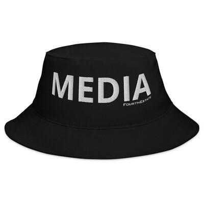 'MEDIA' Bucket Hat