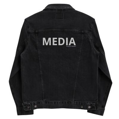 'MEDIA' unisex denim jacket