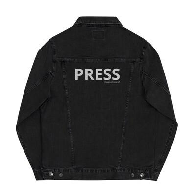 'PRESS' unisex denim jacket
