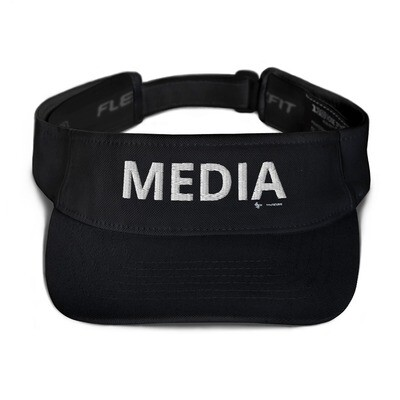 'MEDIA'  Flexfit Visor