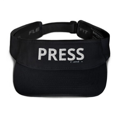 'PRESS'  Flexfit Visor