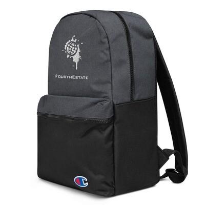 Fourth Estate® Logo Champion Backpack