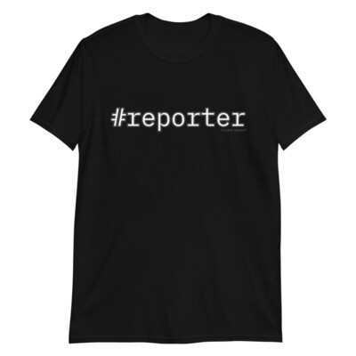 #reporter Short-Sleeve Unisex T-Shirt
