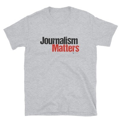 'Journalism Matters' Unisex T-Shirt