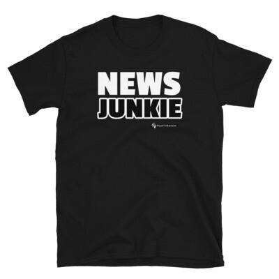 'NEWS JUNKIE' Unisex T-Shirt