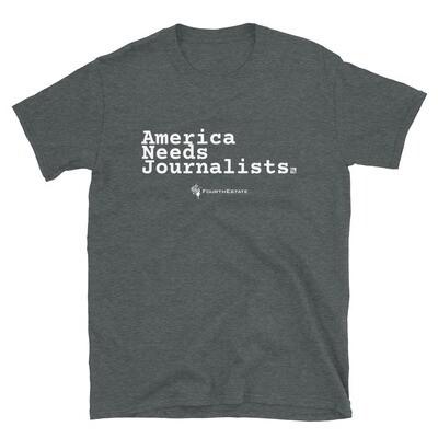 'America Needs Journalists' Unisex T-Shirt
