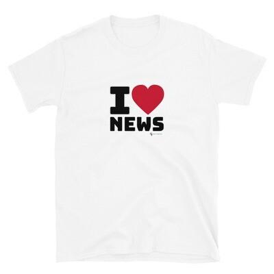 'I Love News'  Unisex T-Shirt